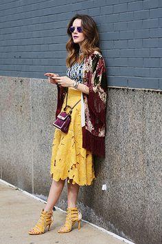 New York Fashion Week Street Style, Spring 2015   NYFW   Teen Vogue