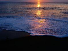Kitty Hawk Beach at Sunset