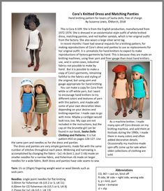 Hand Knitting, Knitting Patterns, Bonnet Pattern, Sasha Doll, Knit Dress, Leather Sandals, Red Leather, Baby Dolls, Fashion Outfits