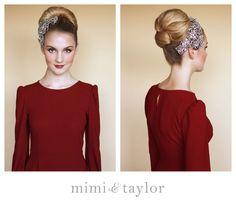 mimi & taylor: DIY- high chignon