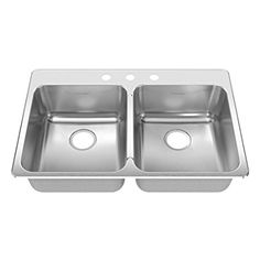 VIGO 30-inch Undermount Stainless Steel 18 Gauge Double Bowl ...