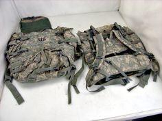 Large field packs including hip belt and shoulder strap on GovLiquidation.  Great for camping or even as a BOB.