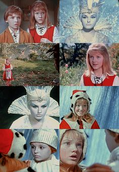 a list of favorite fairytale adaptations:СнежнаяКоролева(The Snow Queen), Soviet Union, 1966