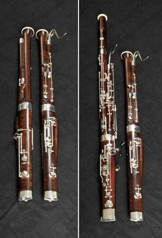 Made in Germany, Pictured next to full size bassoon Music Recording Equipment, All Music Instruments, English Horn, Basson, Early Music, Recorder Music, French Horn, Piano Music, Music Education