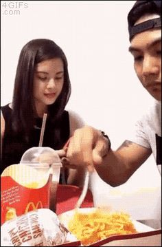 ch0ice:  howthotfull:  theradrae:  imsoshive:  spazzified:  Why is he eating spaghetti out of a McDonald's thingy  Cause the McDonalds in the Philippines have spaghetti   why was that so smooth  The wink though  What you mean McDonald's got Spaghetti