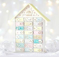 En el Blog... paso a paso para hacer este Calendario de Adviento que está hecho con... ¡Cajas de Cerillas! http://starsandrockets.es/blog/2015/11/el-calendario-de-adviento-mas-original/#more-3538