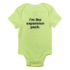 expansion pack body suit/onesie