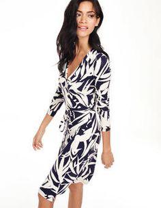 Wrap Dress (Navy Willow)