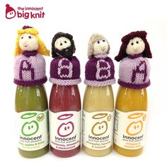 The Inoccent Big Knit. Smoothie Company, Innocent Drinks, Big Knits, Mason Jar Wine Glass, Fruit Smoothies, Cosy, Fundraising, Lime, Coconut