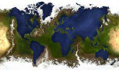 Wenn die Ozeane die Form der Kontinente hätten und umgekehrt. | 21 Bilder, die Deinen Blick auf die Welt verändern werden
