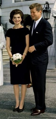Jackie Kennedy in a classic shift by katharine