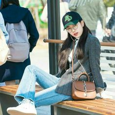 """Suzy - """"While You Were Sleeping"""" Korean Actresses, Korean Actors, Miss A Suzy, Kdrama, While You Were Sleeping, Cool Outfits, Fashion Outfits, Bae Suzy, Korean Model"""