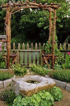 50 Inspiring Rustic Backyard Garden Decorations to Try