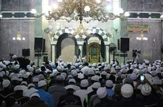 Jalsatul istnain, Majelis Rasulullah Saw, di masjid jami' Al-Munawwar, (28-08-2017), Pancoran, Jakarta selatan, indonesia.