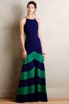 Shoshanna Of Land & Sea Gown #anthrofave