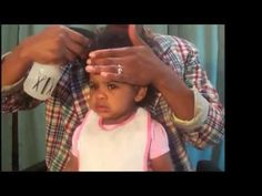 African American Baby Hair Care - Tips on how to comb your baby's hair & easy ponytails