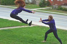 PsBattle: Girls dueling it out.