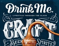 Drink Me Magazine Covers