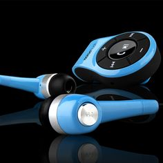 NS560 Clip-on Bluetooth Stereo Headset NoiseHush NS560 Clip-on Bluetooth Stereo Headset - Blue