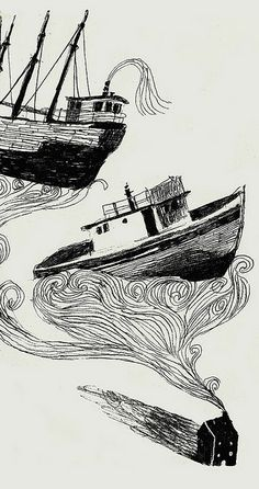 Ships by Melissa Castrillon, via Flickr