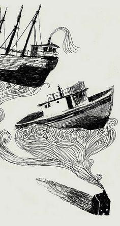 Ships by Melissa Castrillon, via Flickr