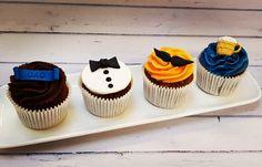Bespoke Cakes, Cupcakes & Sweet Treats - The Family Cake Company Holiday Cupcakes, Wedding Cakes With Cupcakes, Fondant Cupcakes, Themed Cupcakes, Fun Cupcakes, Birthday Cupcakes, Cupcake Cakes, Fathers Day Cupcakes, Fathers Day Cake