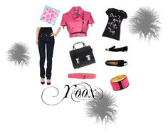 """""""Yoox"""" by allefale ❤ liked on Polyvore featuring moda, Christian Dior, Moschino, McQ by Alexander McQueen, Dsquared2, Fly Girl, Schumacher, La Cartella, Emilio Pucci e women's clothing"""