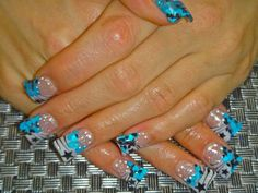 Flare French Nail Art - NAILS Magazine