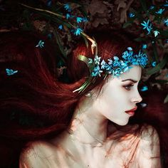 ❀ Flower Maiden Fantasy ❀ beautiful photography of women and flowers - Светлана Беляева