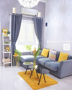 There are many elegant living room ideas that you might decide to get applied in your living room design. Because you have landed here then most probably you want Elegant living room answer. Living Room Color Schemes, Living Room Decor Colors, Elegant Living Room, Living Decor, Colourful Living Room Decor, Living Room Grey, Yellow Living Room, Grey And Yellow Living Room, Apartment Decor