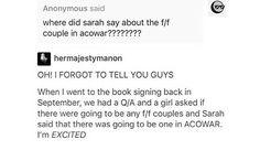 What's f/f?<< I think it means lesbian