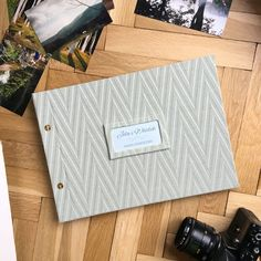 For mountain lovers handmade photo album to keep holiday memories