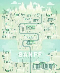 Brilliant, Colorful Landscape Illustrations Of Cosmopolitan Cities & Landmarks - DesignTAXI.com