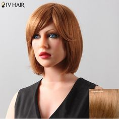 GET $50 NOW | Join RoseGal: Get YOUR $50 NOW!http://www.rosegal.com/human-hair-wigs/stylish-women-s-natural-straight-bob-style-siv-hair-human-hair-wig-511827.html?seid=2275071rg511827