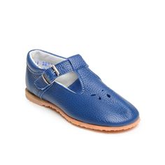 Blue T-Strap Maryjane Girls Shoes by Lili Collection at MineMine Kids
