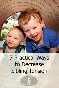 Decease sibling rivalry using these 7 strategies.