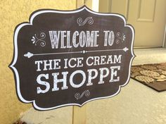 Ice Cream Social Printable Party