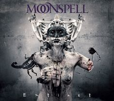 """Portuguese metallers MOONSPELL will release their new album, """"Extinct"""", in March via Napalm Records. Description from musicnewshq.com. I searched for this on bing.com/images"""