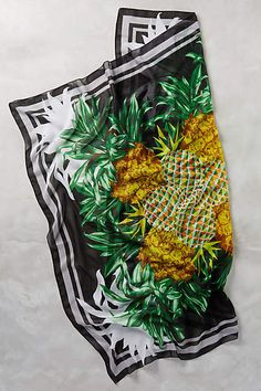 Pineapple Pareo Sarong - anthropologie.com