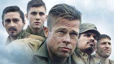 Watch the First Trailer for Fury, Starring Brad Pitt! Hans Landa, Brad Pitt, Quentin Tarantino, Fury 2014, Army Sergeant, Film Streaming Vf, Sherman Tank, Columbia Pictures, Inglourious Basterds