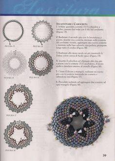 August 2011 Sxemi dlja Bisera - Olga Arngold - Picasa Web Albums <---- many patterns! Seed Bead Patterns, Beaded Jewelry Patterns, Beading Patterns, Doily Patterns, Dress Patterns, Beading Projects, Beading Tutorials, Beading Techniques, Beaded Brooch