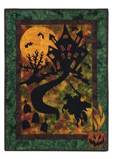 Haunted Hoofbeats quilt pattern by Susan Propst for Keepsake Quilting