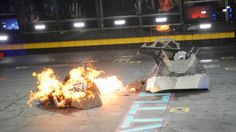 """At The """"Intersection Of Design And Destruction,"""" ABC Reignites """"BattleBots"""" With Creative Combat Ariel Nomad, Battle Bots, Big Robots, New Fantasy, Business Innovation, Destruction, Engineering, Creative, Outdoor Decor"""