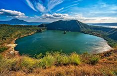 Taal Volcano has the site of almost all historical; It grabs people attention and wanting to experience the activities such as boating away from the shore to taal lake, hose back riding, kiting, and many more. Volcano Activities, Taal Volcano, Uk Visa, Crater Lake, Famous Places, Manila, Hotels And Resorts, The Good Place, Beautiful Places