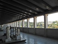 Stoa of Attalos Floor), Ancient Agora, Athens Best Sites, 2nd Floor, Greece Travel, Caves, Archaeology, The Good Place, Holidays, History, City