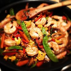 siriously delicious: Eating Well: Shrimp Stir Fry
