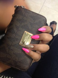 pointed nails not for me but I love the colors