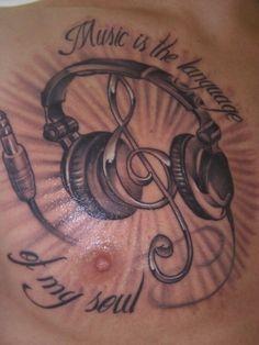 Music, tattoo