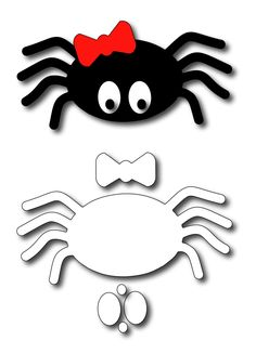 Moldes Halloween, Halloween Templates, Manualidades Halloween, Adornos Halloween, Halloween Quilts, Halloween Decorations For Kids, Halloween Arts And Crafts, Halloween Cans, Halloween Crafts For Toddlers