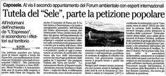 OttoPagine - in relazione all'evento http://www.forumambientale.org/event-view/dallirpinia-alla-valle-del-sele-terre-da-avvelenare-o-salvaguardare/ e http://www.forumambientale.org/causes/